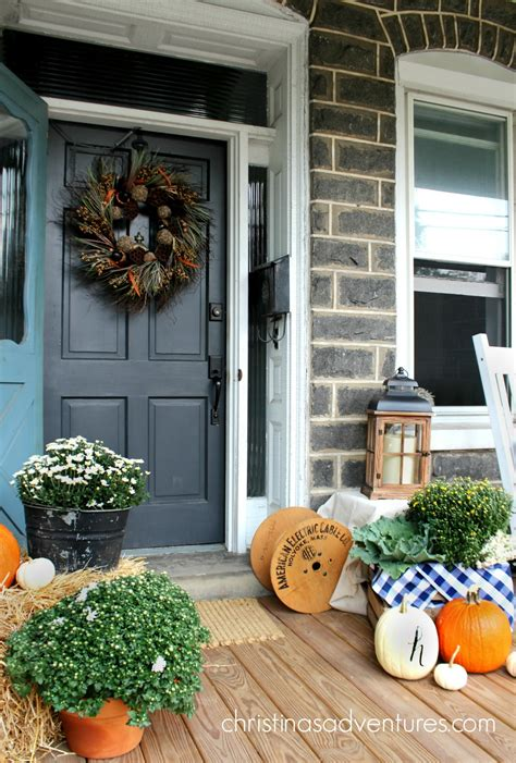 Images Of Fall Front Porches fall front porch christinas adventures