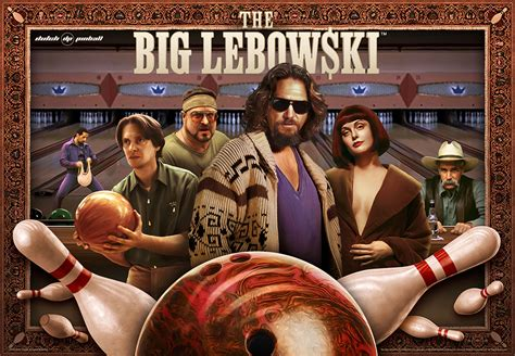 Julianne Moore House The Big Lebowski Pinball Machine Images And Collider