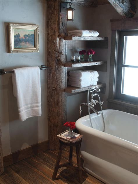 bathroom skylights melbourne design ideas atlite roof windows natural openable imanada photos hgtv rustic bathroom with standalone tub and