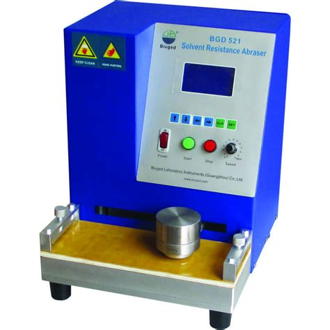 resistor tester solvent rub resistance tester sprayquick systems