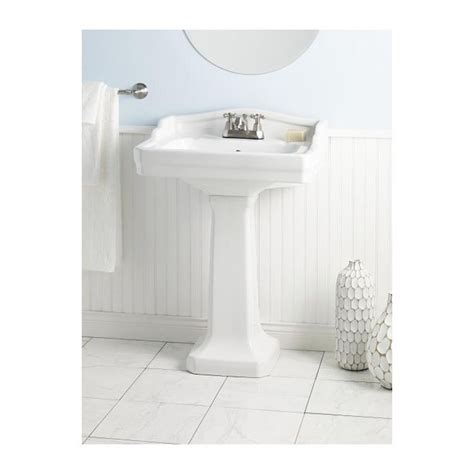 pedestal sink 18 inches 24 best images about bathroom on pinterest east bay