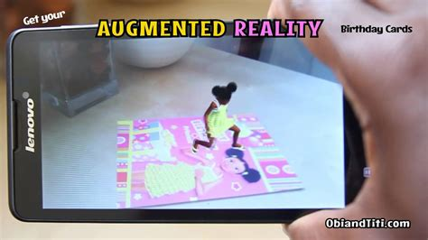 how to make augmented reality cards obi and titi augmented reality birthday cards