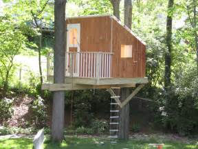Also modern concrete homes on simple kids tree house designs