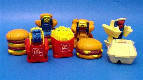 cuisine mcdo jouet mcdonald s changeables best of the 80s