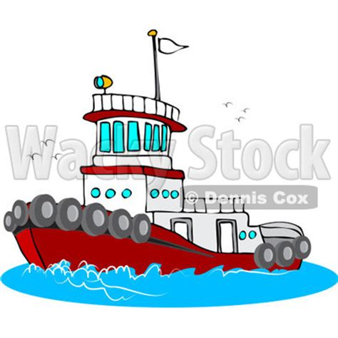 tugboat cartoon tugboat clipart clipart suggest