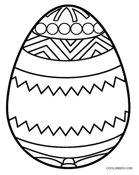Printable Easter Egg Coloring Pages For Kids Cool2bkids Easter Eggs Coloring Pages