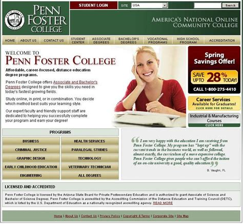 Http Foster Uw Edu Academics Degree Programs Technology Management Mba by Penn Foster College Degrees Reviews Tuition