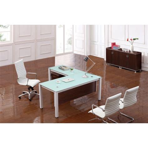 Executive Desk Modern Corp Designs Sling Series Glass Top Executive Desks Cd Sling S72