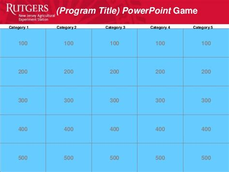 rutgers hybrid online conf powerpoint games animated