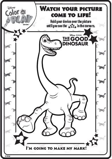 disney color and play pages to print coloring page