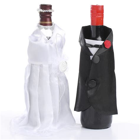 Western Wedding Bottle Cover and groom bottle covers toasting glasses wedding