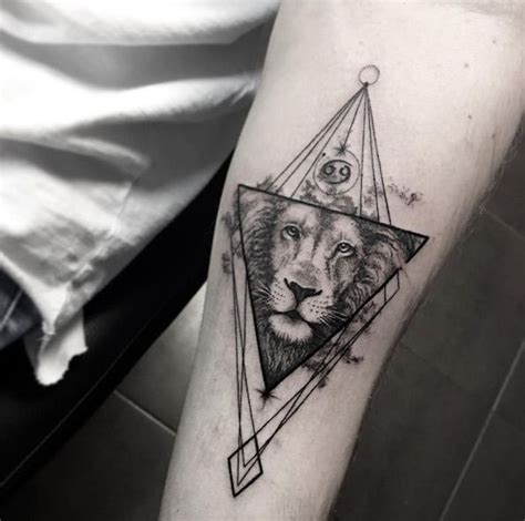 lion geometric tattoo 50 tattoos that are 100 percent epic animal