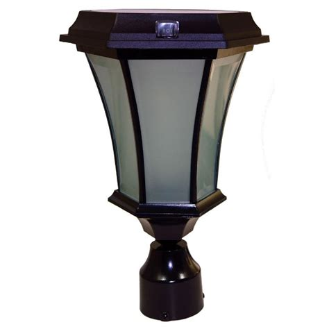Outdoor Solar Carriage Lights Solar Goes Green Solar Black Outdoor Led Warm White Coach Light With Concave Glass Panels And 3