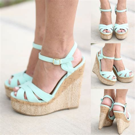 Pretty Heels For Summer by Best 25 Wedges Shoes Ideas On Wedge