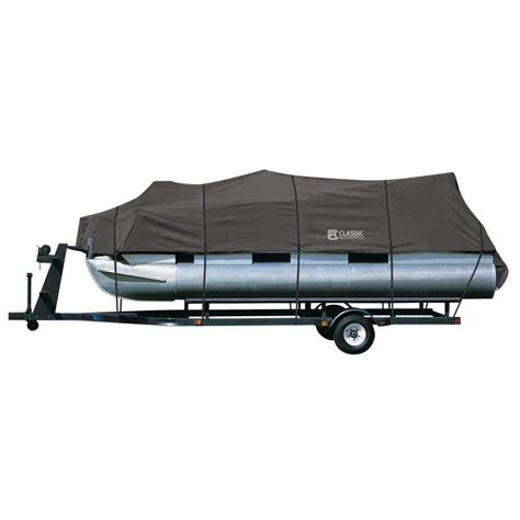 24 ft pontoon boat cover classic accessories stormpro 21 ft 24 ft pontoon boat