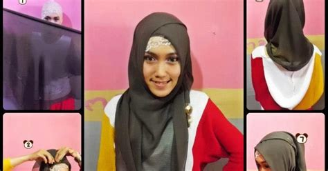 Kreasi Jilbab Terbaru cara memakai jilbab kreasi modern terbaru cantik dan trend 2014 tips trik memasang