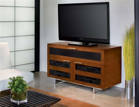 Solid Cherry Media Cabinet.Coaster Solid Wood Glass Corner