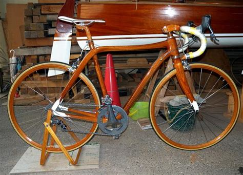 Handcrafted Bicycles - japanese shipbuilder creates wooden bicycles cyclelicious