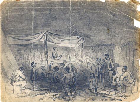 hand civil war era drawings   becker collection