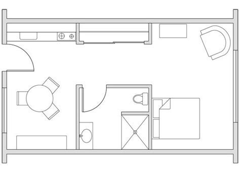 gallery for gt 250 ft studio apartment floor plans apts