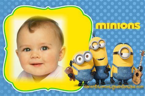 montajes y fotomontajes infantiles para ni os y bebes fotomontaje de minions para crear gratis fotomontajes