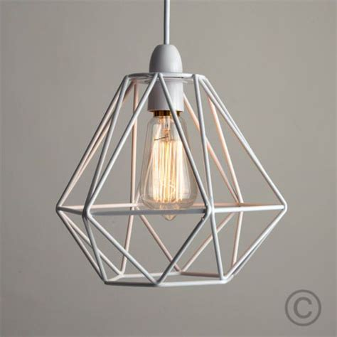 light shades ceiling modern white metal wire frame ceiling light pendant shade