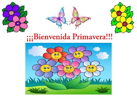 Imagenes Infantiles De Otoño   bienvenida primavera 1 pptxnaty