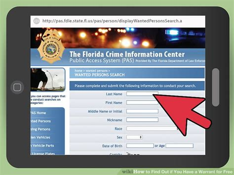 How To Search If You A Warrant For Free How To Find Out If You A Warrant For Free 14 Steps
