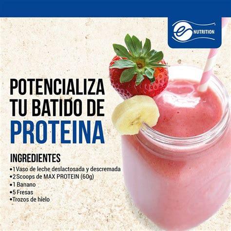 q proteinas tiene el banano m 225 s de 25 ideas incre 237 bles sobre batidos de prote 237 na de