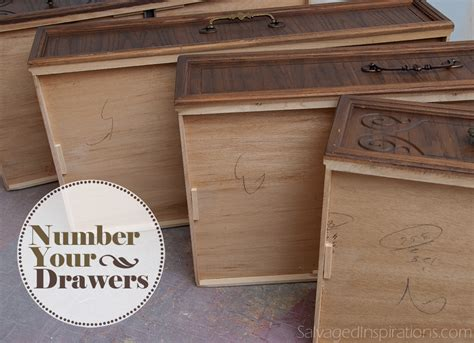 Number Drawer by Tip Tuesday Number Your Drawers Salvaged