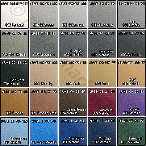 Auto Folie Muster Bestellen by Carwrapping Folie 970 Metallic Glanz Farben