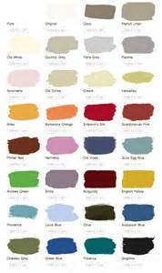 color matches for annie sloan chalk paint in latex behr
