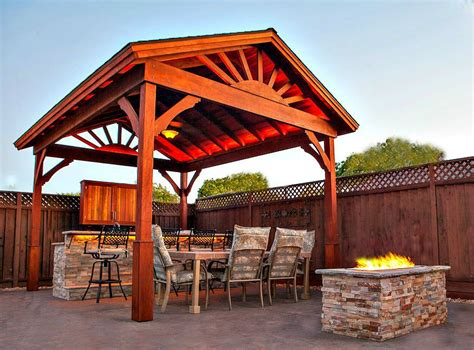 Gable Roof Gazebo Gazebo With Gable Roof Building Plans Diy Backyard