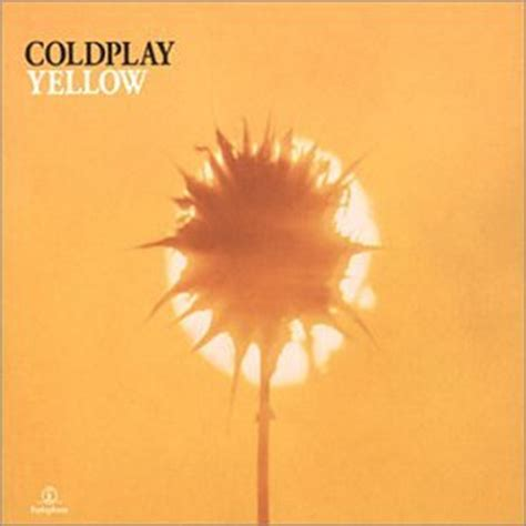 coldplay xyz yellow by coldplay album cover