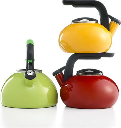 Colorful Bathrooms Kitchenaid Tea Kettle Contemporary Kettles By Macy S