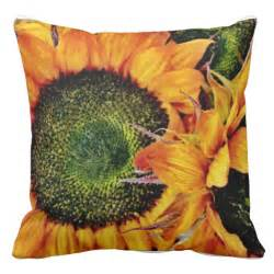 cushion bouquet of cushion sunflower throw pillows zazzle