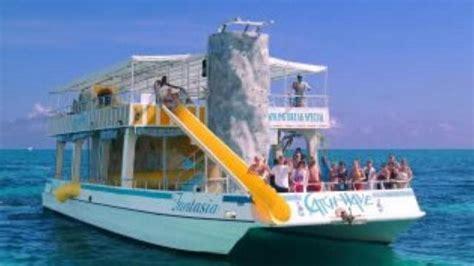 catamaran freeport bahamas double decker catamaran fun with snorkel freeport
