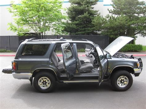 1995 Toyota 4runner Sr5 V6 1995 Toyota 4runner Sr5 V6 4x4 Auto Moon Roof Brush Guard