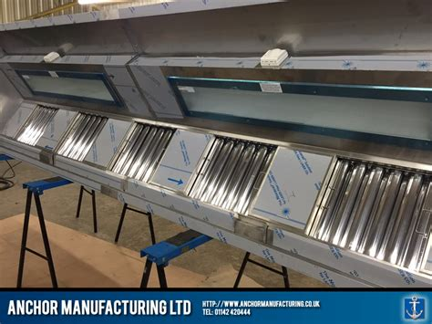 Sheffield Kitchen Canopy With Led Lighting Anchor Kitchen Canopy Lights
