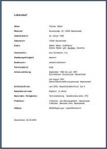 Lebenslauf Muster Kopieren Kas Info 9 Td Thema 4e Lebenslauf Mit Tabulator