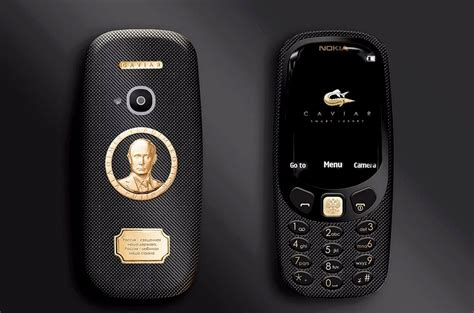 Softcase Nokia 3310 Reborn 2017 gold nokia 3310 with putin s portrait on it boing boing