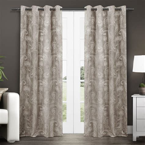 paisley curtains window treatments com exclusive home bangalore paisley room