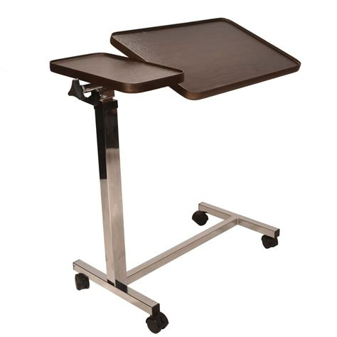 deluxe twin top  bed  chair table adjustable height  angle mobility aid ebay