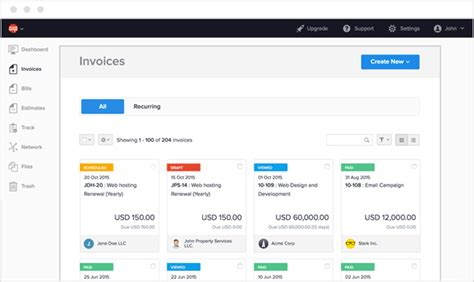 top 5 invoice software for mac