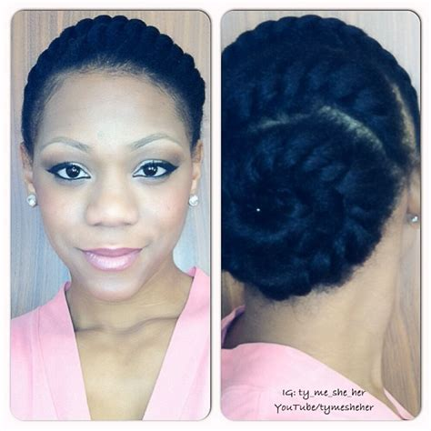 professional flat twist updos cute style for a professional work look hair