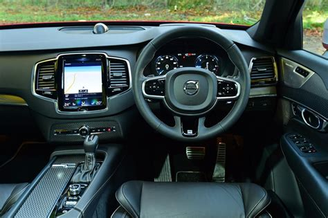 r design xc90 interior volvo xc90 r design review pictures auto express