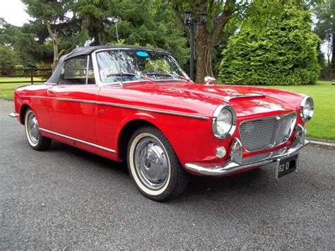 classic fiats for sale fiat convertible model 1200 cabriolet sold 1962 car