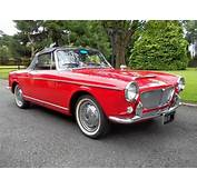 1962 FIAT Convertible Model 1200 Cabriolet SOLD  Car And