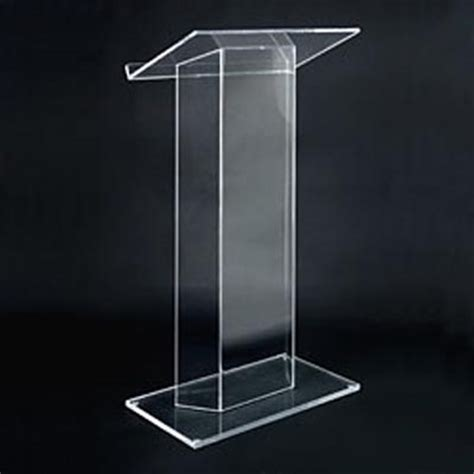 Podium Acrylic 5 acrylic lecterns and podiums