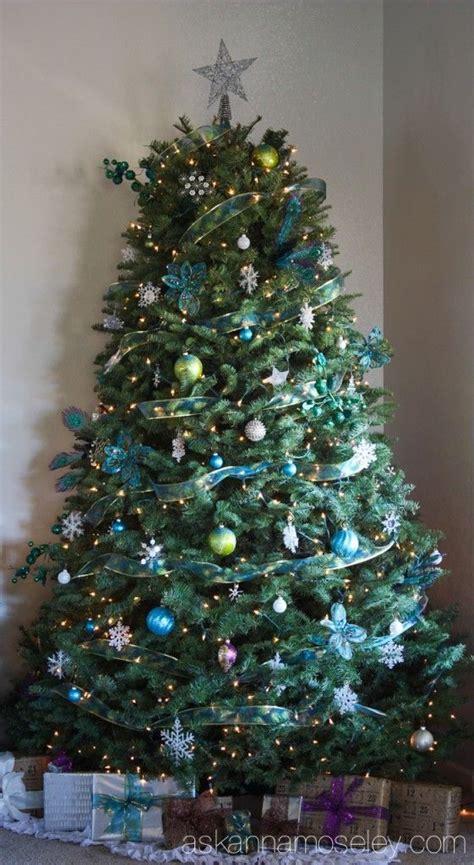 peacock themed christmas tree ask anna holiday